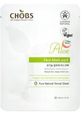 CHOBS NATURKOSMETIK - CHOBS Produkte CHOBS Produkte Aloe Mask Pack 25ml Feuchtigkeitsmaske 25.0 ml - Tuchmasken