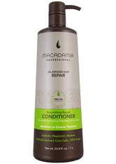 MACADAMIA - Macadamia Haarpflege Wash & Care Nourishing Moisture Conditioner 1000 ml - CONDITIONER & KUR
