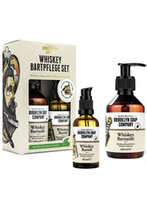 BROOKLYN SOAP COMPANY - Brooklyn Soap Co. Whiskey Bartpflege Set - Bartpflege