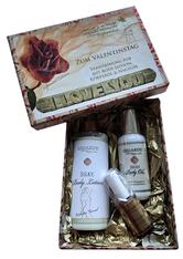 Gigarde Silky Body Lotion mit Olive Valentinsset