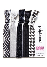 Popband London Popband Working Girl Black-White Haarband 1.0 pieces