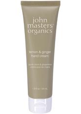 John Masters Organics Körperpflege Handpflege Lemon & Ginger Hand Cream 54 ml