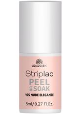 Alessandro Striplac Peel or Soak Nagellack  8 ml Nr. 105 - Nude Elegance