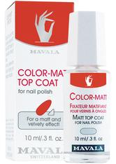 MAVALA - Mavala Color-Matt, Überlack 10 ml Nagelüberlack - BASE & TOP COAT