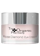 The Organic Pharmacy Pflege Gesichtspflege Rose Diamond Eye Cream 10 ml