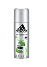 adidas Pflege Functional Male 6 in1 Cool & Dry 48 h Deodorant Spray 150 ml