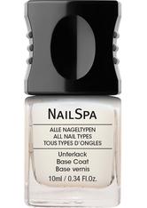 Alessandro Nail Spa mit Lotus Nourishing Base Coat Nagelunterlack 10 ml