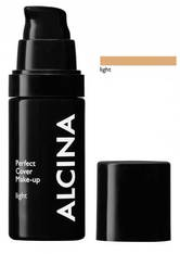 ALCINA - Alcina Perfect Cover Make-up 30 ml Light Flüssige Foundation - Foundation