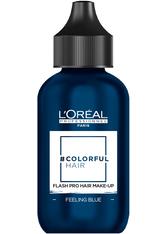 L'ORÉAL PARIS - L'Oreal Professionnel Haarfarben & Tönungen Colorful Hair Flash Pro Hair Make-up Feeling Blue 60 ml - Haartönung