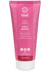Khadi Naturkosmetik Produkte Shampoo - Rose Repair 200ml Haarshampoo 200.0 ml