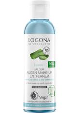 LOGOCOS - LOGONA Milder Augen Make-up Entferner Bio-Aloe Vera 125 ml - MAKEUP ENTFERNER