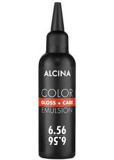 Alcina Color Gloss+Care Emulsion Haarfarbe 6.56 D.Blond-Rot-Violett Haarfarbe 100 ml