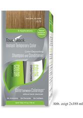 TOUCHBACK - TouchBack Shampoo & Conditioner Einmal-Set Naturalblond Sachet 15 x 19 ml - SHAMPOO