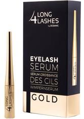 LONG4LASHES - LONG4LASHES Eyelash Serum GOLD Wimpernserum  4 ml - Augenbrauen- & Wimpernserum