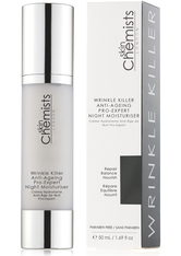 SKINCHEMISTS - SkinChemists Wrinkle Killer Anti-Ageing Pro-Expert Night Moisturiser 150 ml - NACHTPFLEGE