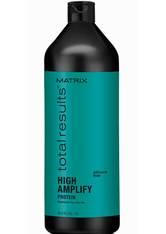 Matrix Total Results High Amplify Shampoo (1000ml), Conditioner (1000ml) und Foam Volumizer (270ml)