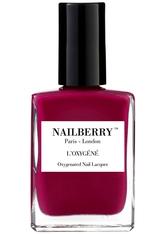 Nailberry Nägel Nagellack L'Oxygéné Oxygenated Nail Lacquer Raspberry 15 ml