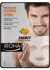 Iroha Pflege Gesichtspflege Relaxing & Moisturizing Tissue Face Mask Men 1 Stk.