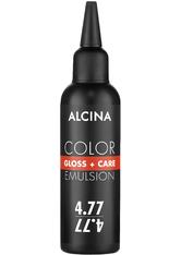 Alcina Color Gloss+Care Emulsion Haarfarbe 4.77 M.Braun Int.-Braun Haarfarbe 100 ml