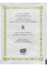 WHAMISA Organic Friuts Hydrogel Facial Mask Gesichtsmaske  33 g