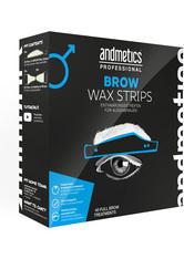 andmetics Brow Wax Strips Men 40 Stück