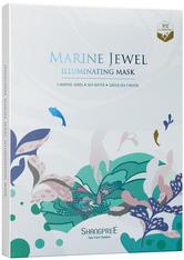 Shangpree Marine Jewel Illumination Mask Gesichtsmaske 5 Stk