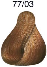 WELLA - Wella Color Touch Plus 77/03 mittelblond-intensiv natur-gold 60 ml - HAARFARBE