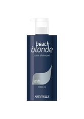 STOPPERKA - Artistique Beach Blonde Shampoo Ash 1000 ml, 1 Liter - Shampoo