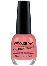 FABY - FABY Oxygen Base Coat 15 ml - BASE & TOP COAT