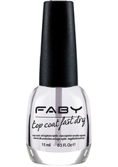 FABY - FABY Top Coat Fast Dry 15 ml - BASE & TOP COAT