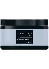 Schwarzkopf Chroma ID Bonding Color Mask 9.5-1 Eis für Anti-Gelb-Effekte auf hellblonden, silbernen oder weißen Grundlagen, 250 ml
