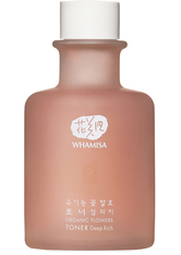 WHAMISA Produkte Organic Flowers Toner Deep Rich 155ml Gesichtswasser 155.0 ml