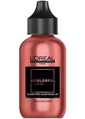 L'ORÉAL PARIS - L'Oreal Professionnel Haarfarben & Tönungen Colorful Hair Flash Pro Hair Make-up Dancing Pink 60 ml - Haartönung