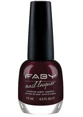 Faby Nagellack Classic Collection For Greta Purple Or Brown? 15 ml