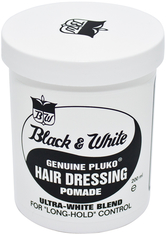BLACK AND WHITE - Black & White Hair Dressing Pomade - POMADE & WACHS
