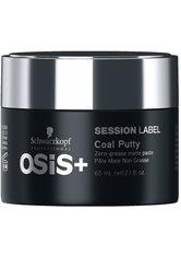 Schwarzkopf Osis Session Label Coal Putty 65 ml Haarpaste