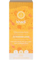 Khadi Naturkosmetik Produkte Pflanzenhaarfarben - Sonnenblond 100g Pflanzenhaarfarbe 100.0 g