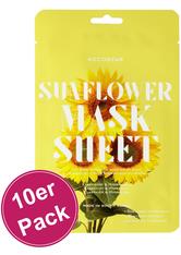 KOCOSTAR - Kocostar Slice Mask Sunflower Flower 10er Pack - Tuchmasken