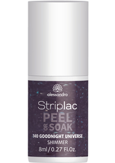 Alessandro Striplac Peel or Soak 140 Good Night Universe 8 ml Nagellack