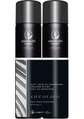 Aktion - Paul Mitchell Awapuhi Wild Ginger Anti-Frizz Hairspray 2 x 307 ml Haarspray