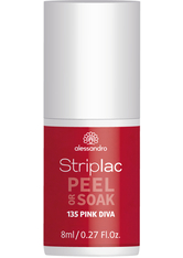 ALESSANDRO - alessandro international UV-Nagellack »Striplac PEEL OR SOAK«, rosa, PINK DIVA - NAGELLACK