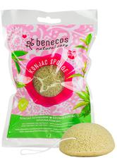 benecos Produkte Natural Konjac Sponge - Green Tea  1.0 pieces
