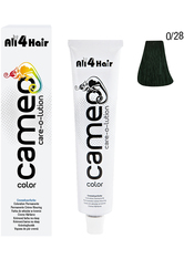 LOVE FOR HAIR - LOVE FOR HAIR Professional cameo color care-o-lution 0/28 grün  60 ml - Haarfarbe