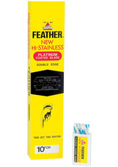 Feather New HI-Stainless FH-10 im 10er Pack 10