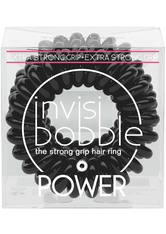 invisibobble - Haargummi - 3 Stk. - Power - The Strong Grip Hair Ring - True Black