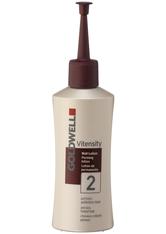 Goldwell Vitensity Dauerwelle 2 - für poröses, gefärbtes Haar oder Naturhaar mit Strähnen bis max. 50 %, Portionsflasche 80 ml