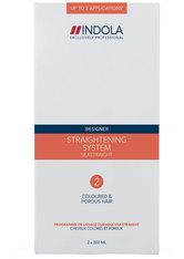 Indola Umformung Designer Silkstraight Glättungssystem 2 color/sensitiv 400 ml Haarcreme