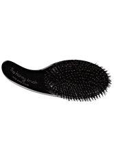 Olivia Garden Kidney Brush 100 % Boar schwarz Friseurzubehör