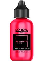 L'ORÉAL PARIS - L'Oreal Professionnel Haarfarben & Tönungen Colorful Hair Flash Pro Hair Make-up Midnight Fuchsia 60 ml - Haartönung