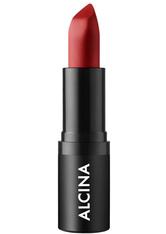 Alcina Matt Lip Colour chili red für helle Haut, dunkle Haare